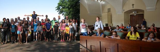 Wizyty polskich dzieci z Białorusi w Chełmnie i Poznaniu