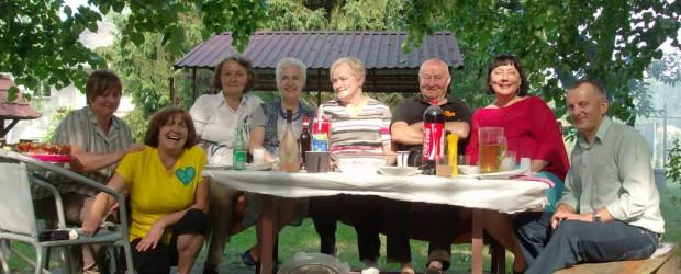 Spotkanie imieninowe klubowiczki p. Haliny Maline z Nowego Sącza
