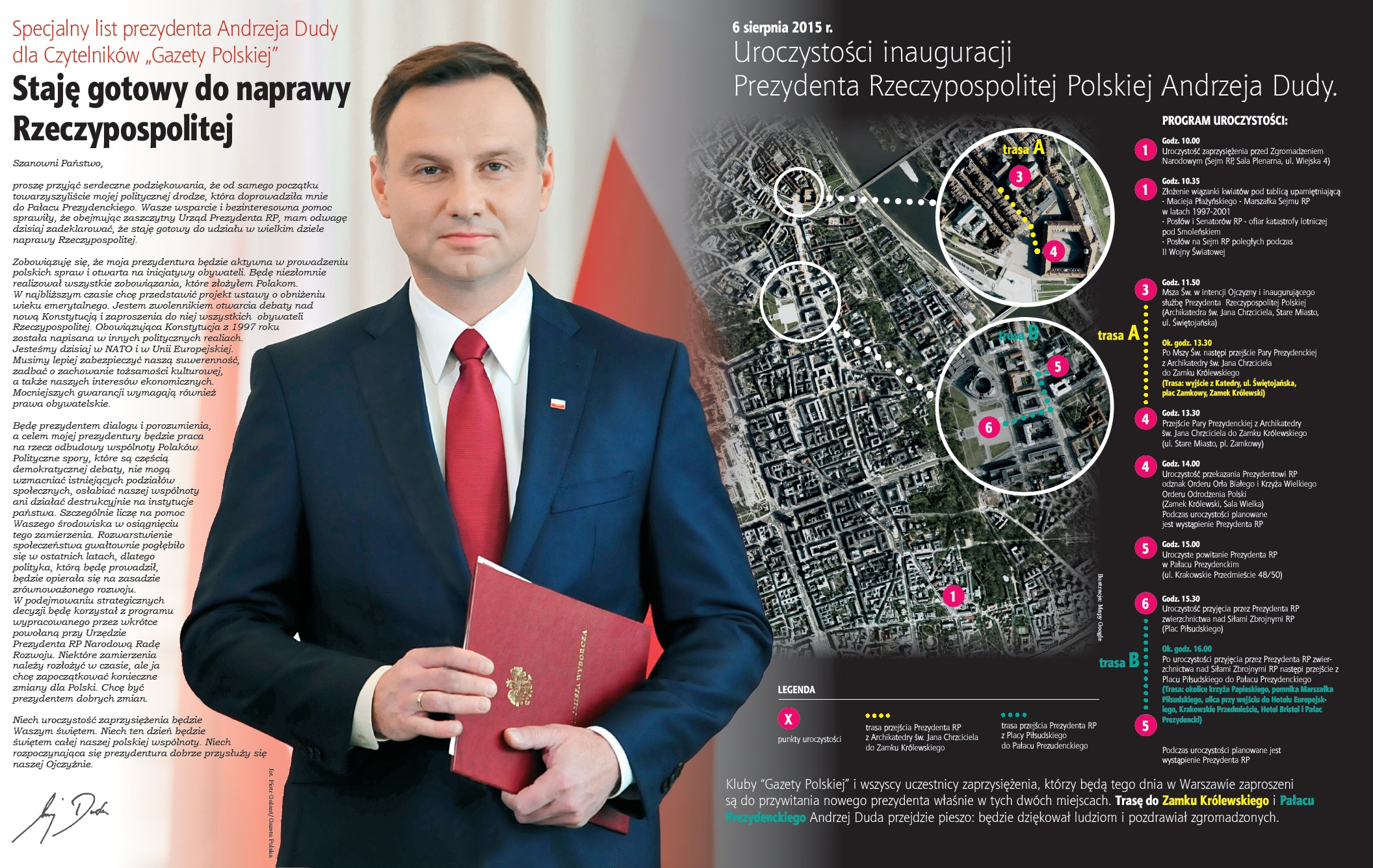 Andrzej Duda-6 sierpnia