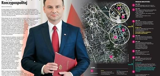 Program uroczystości inauguracji Prezydenta RP Andrzeja Dudy (MAPKA)!
