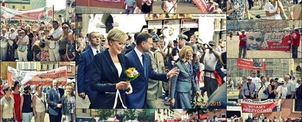 """Klub """"GP"""" witają Prezydenta RP Andrzeja Dudę [Fotorelacja]"""