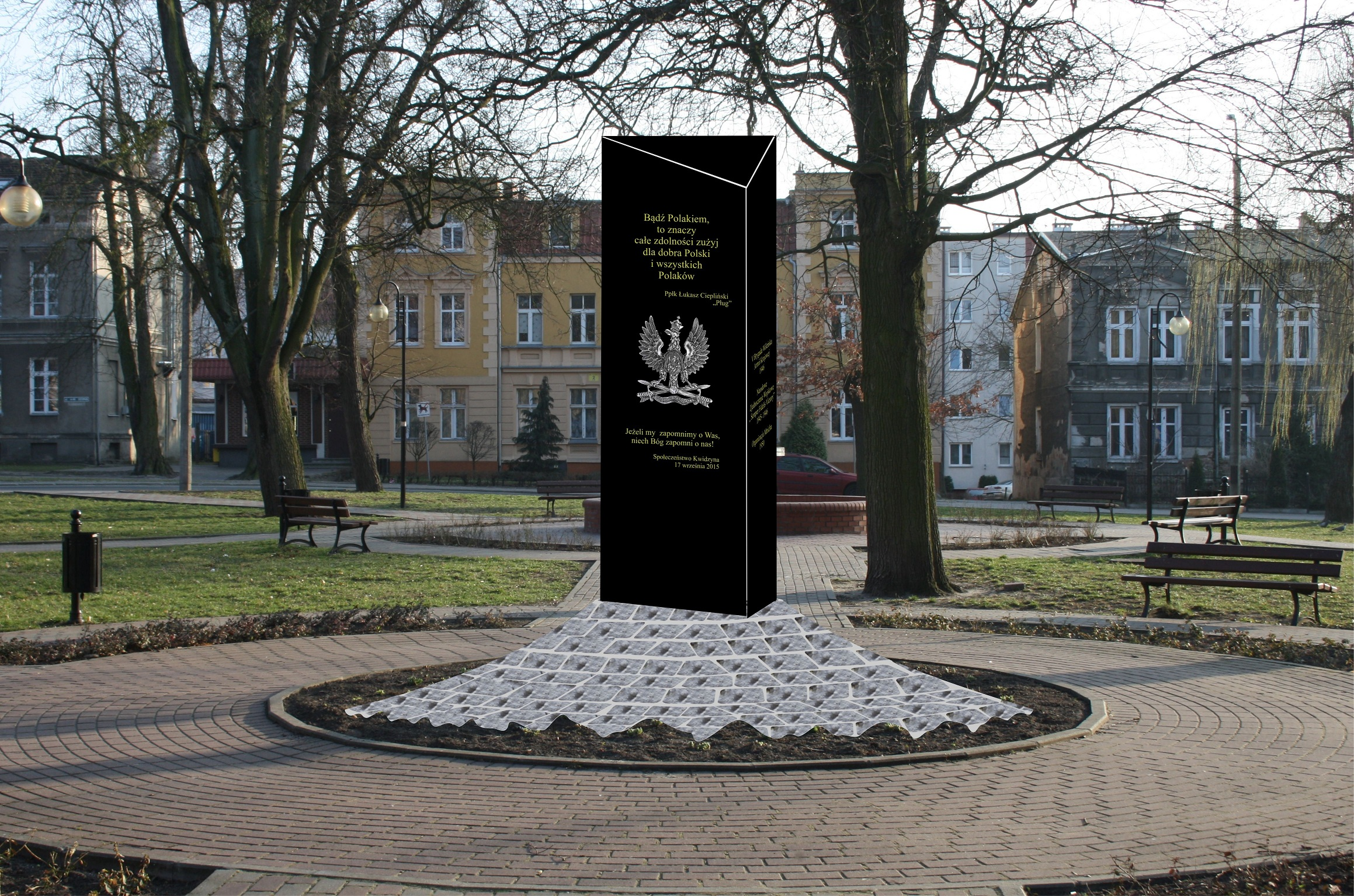 Kwidzyn II pomnik Zolnierzy wykletych