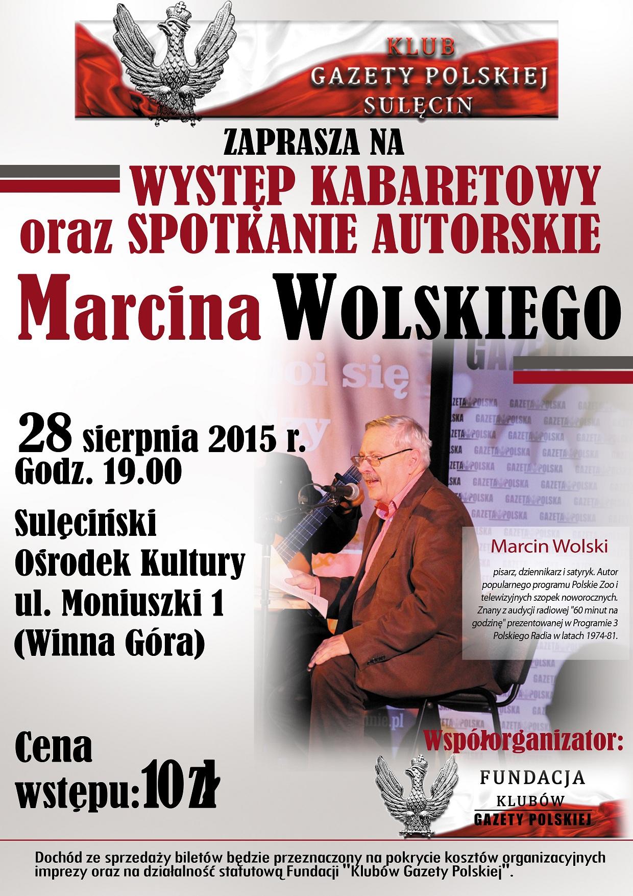 Sulecin Plakat Marcin Wolski 2015