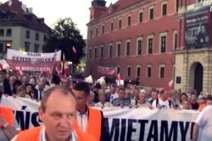Warszawa – Marsz i Apel Pamięci (10.08.2015) – wideo