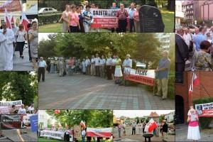 Obchody 64. miesięcznicy Tragedii Smoleńskiej w Polsce i na świecie