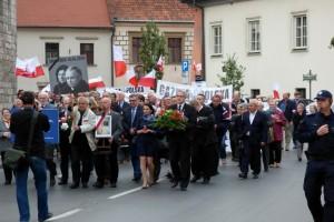 65 Miesięcznica Smoleńska w Krakowie (wideo)