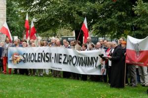 Poznańskie obchody 65 miesięcznicy Tragedii Smoleńskiej