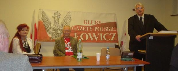 Łowicz – Spotkanie z ministrem Witoldem Waszczykowskim