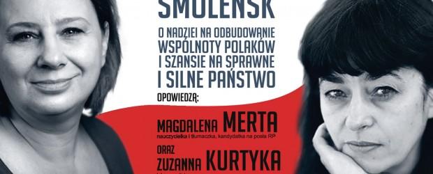 Kobyłka – spotkanie z Magdaleną Mertą oraz Zuzanną Kurtyką, 18 października