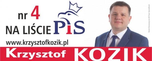 Krzysztof Kozik- kandydat do Sejmu RP z Libiąża
