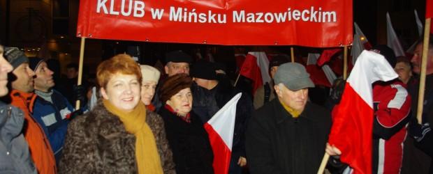 """Teresa Wargocka – kandydatka do Sejmu z Klubu """"GP"""" Mińsk Mazowiecki"""