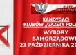 """[TABELKA] Kandydaci Klubów """"GP"""" w wyborach samorządowych 2018 r."""