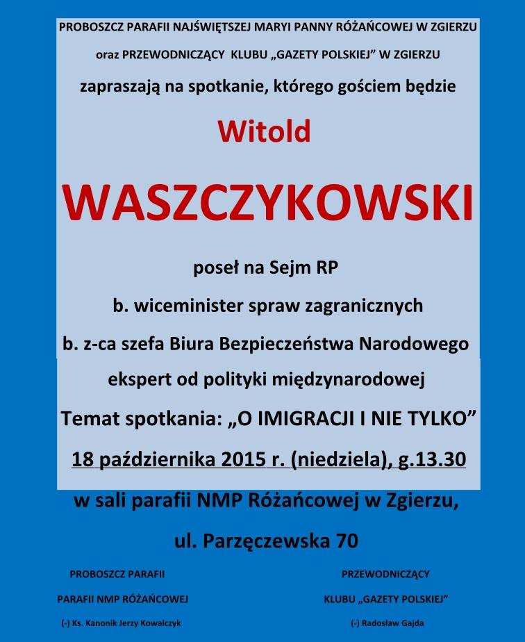 Zgierz Waszczykowski 2015