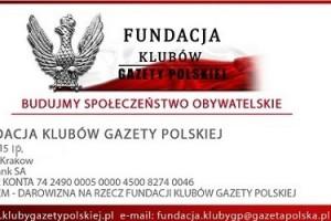 """Darowizna od Klubów """"Gazety Polskiej"""""""