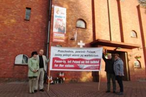 Kopanica, Sulechów – miesięcznica tragedii smoleńskiej