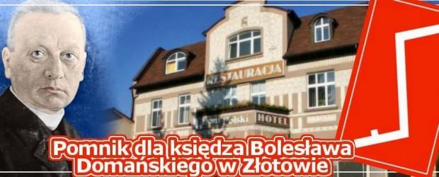 Krajenka – pomnik upamiętniający ks. Bolesława Domańskiego