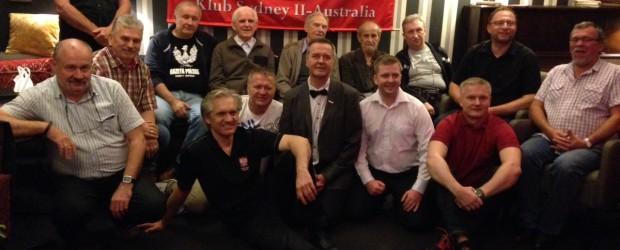 Sydney – comiesięczne spotkanie Klubu GP Sydney, 3 grudnia