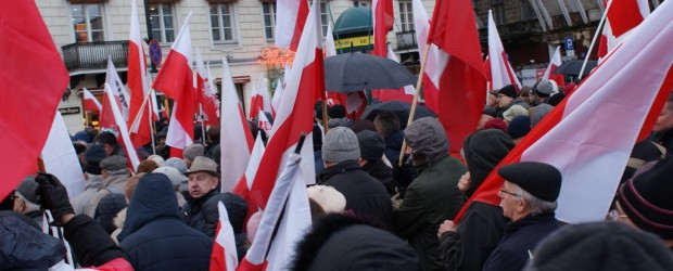 Mazurscy patrioci na marszu w Warszawie