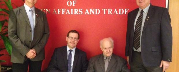 Spotkanie z ambasadorem Australii do Polski z przedstawicielami Polonii Sydneyskiej