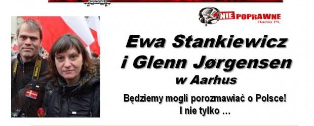 Arhus – spotkanie z Ewą Stankiewicz i Glennem Jorgensenem, 27 lutego