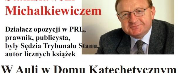 Andrychów II – spotkanie z red. Stanisławem Michalkiewiczem,  27 lutego