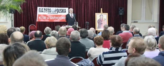 Spotkanie z prof. Jerzym Robertem Nowakiem w Garwolinie (wideo)