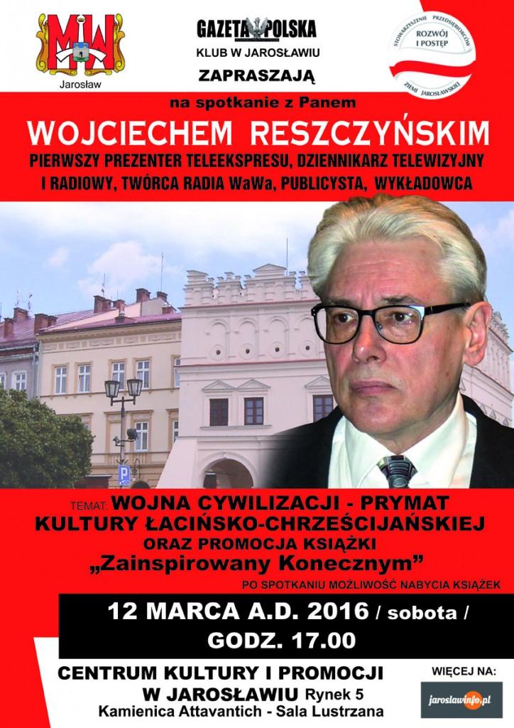 plakat W Reszczyñski