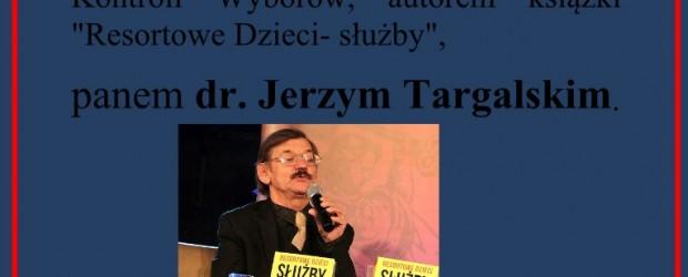 Nowy Jork, New Jersey – spotkania z dr. Jerzym Targalskim, 7 lutego