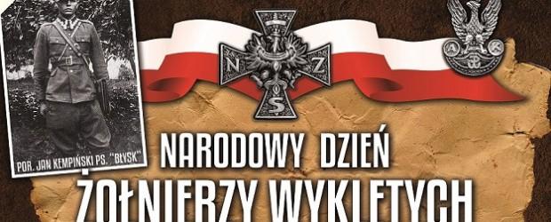 Ostrów Wlkp. -program  obchodów Narodowego Dnia Pamięci Żołnierzy Wyklętych