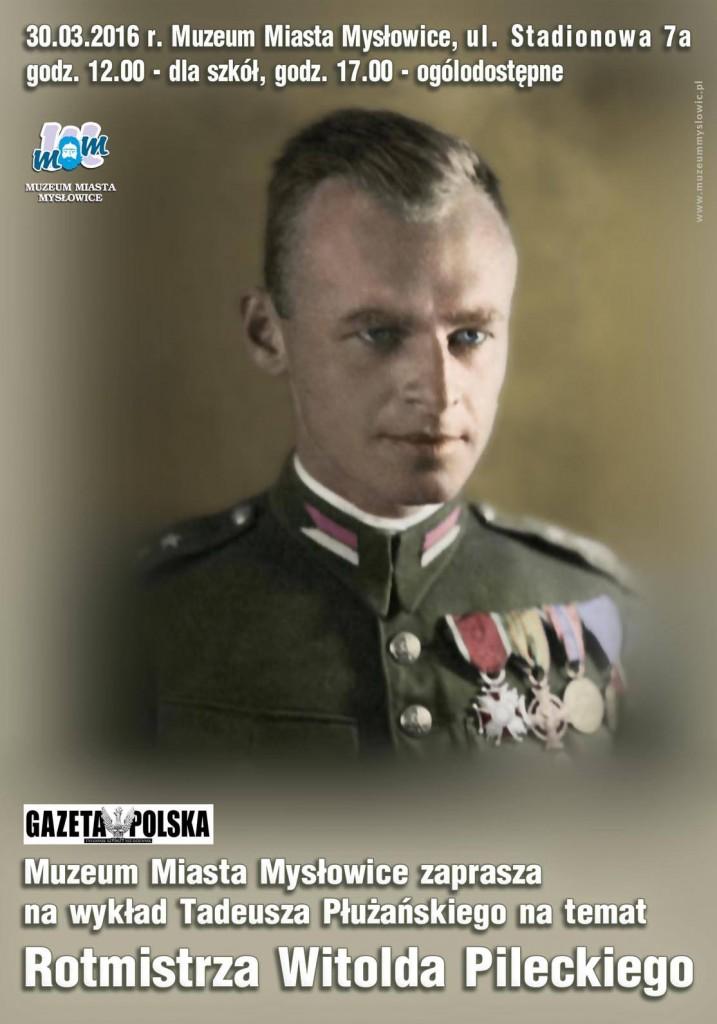 Myslowiece W.Pilecki plakat 2016