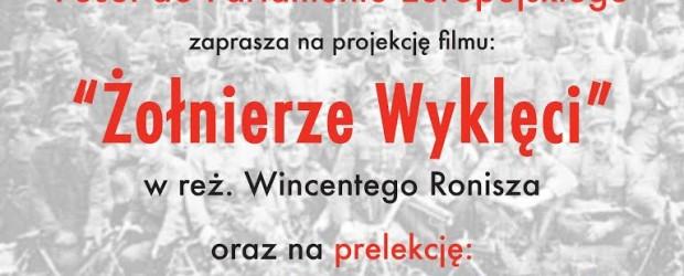 Słupsk: projekcja filmu o Żołnierzach Wyklętych oraz spotkanie z Piotrem Szubarczykiem, 12 marca