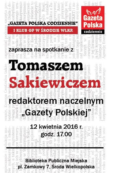 Środa Wlkp Sakiewicz2016
