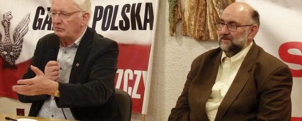 Krzysztof Wyszkowski na spotkaniu w Bydgoszczy