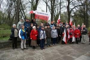 Gliwice: Klubowicze na obchodach VI rocznicy tragedii smoleńskiej w Warszawie