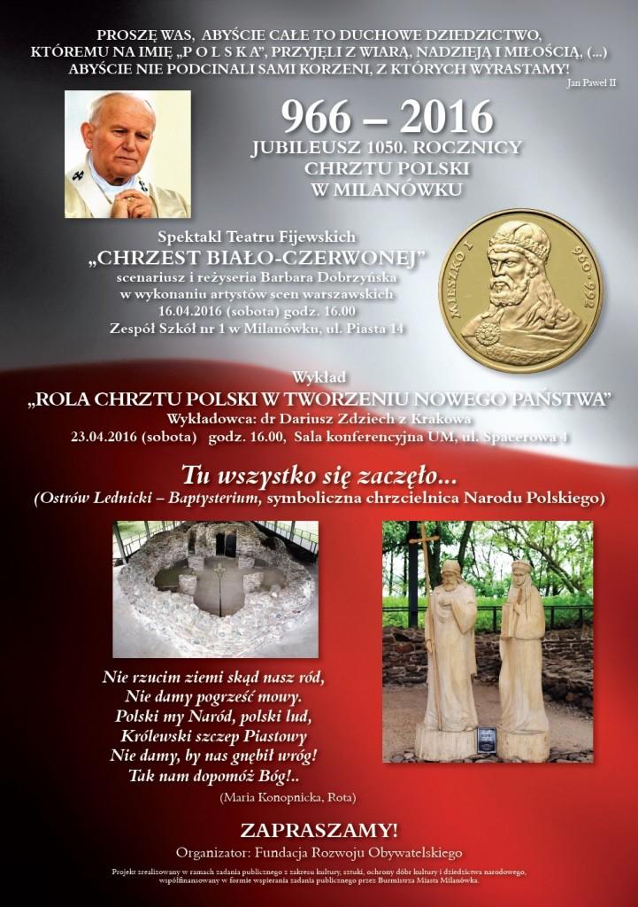 Milanowek_Chrzest Polski