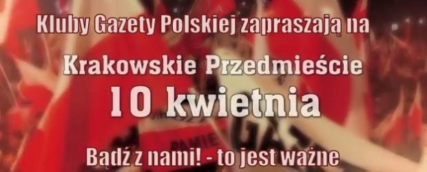 """[Tydzień w Klubach """"GP""""] Spotykamy się 10 kwietnia w Warszawie"""