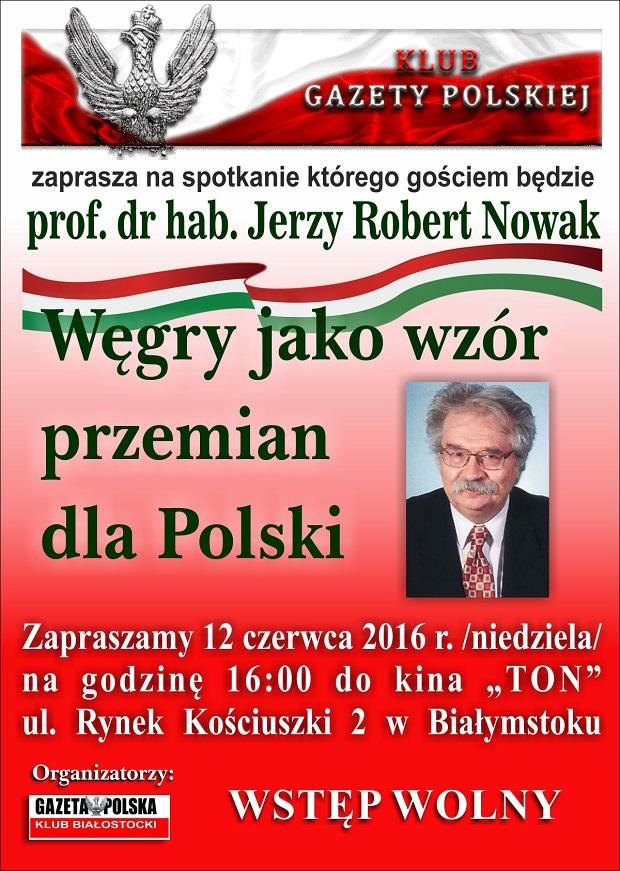 Bialystok - JRN plakat zaproszenie  2016