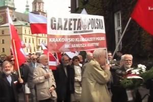 3 Maja.Uroczystości w Krakowie (wideo)