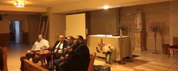 Spotkanie Tomasza Sakiewicza, Ryszarda Kapuścińskiego oraz Pawła Piekarczyka z Polonią. Transmisja z Nowego Jorku.