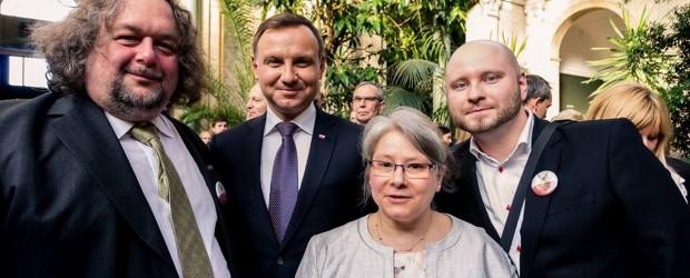 Spotkanie Prezydenta z Polonią w Kopenhadze