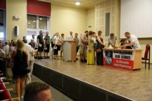 """Witold Gadowski w Gliwicach – promocja książki """"Lokal dla awanturynach"""""""
