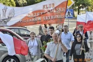 Piotrków Trybunalski – 74 miesięcznica Tragedii Smoleńskiej