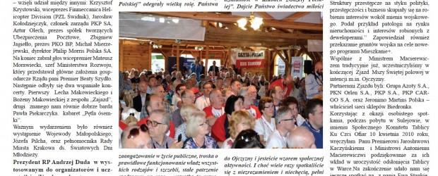 Klub Gazety Polskiej w Warce na XI Zjeździe Klubów Gazety Polskiej w Sulejowie