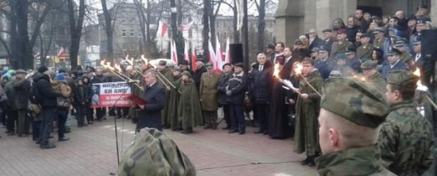 Obchody Narodowego Dnia Pamięci Żołnierzy Wyklętych w Katowicach