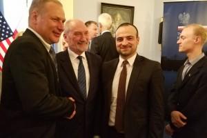 Minister Antoni Macierewicz w Waszyngtonie dla Polonii i środowiska Gazety Polskiej w Ameryce