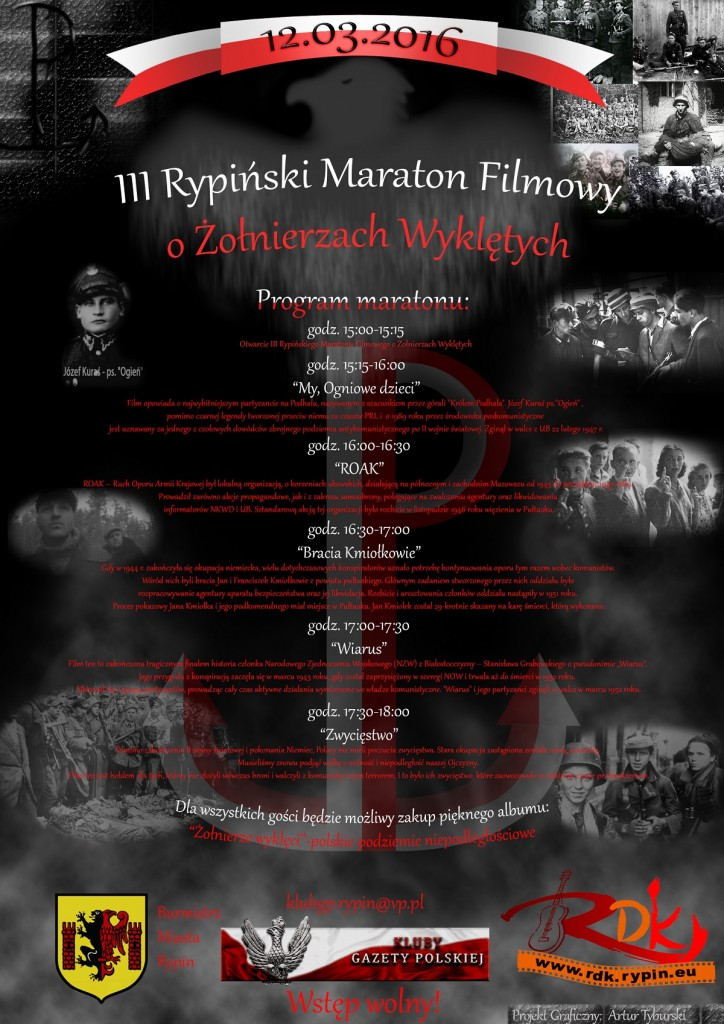 Rypin III Maraton filmowy2016