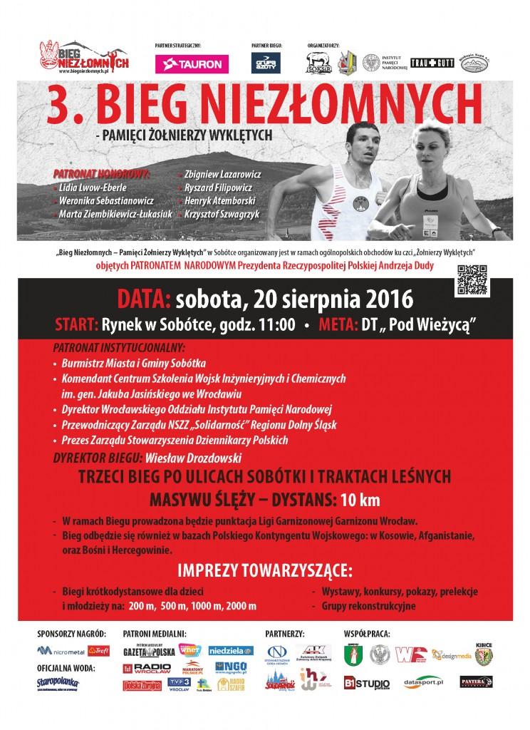 Wroclaw - Bieg Niezlomnych 2016
