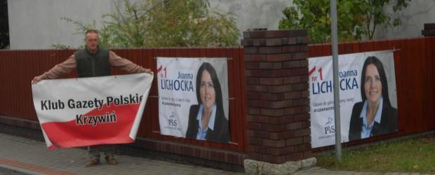Krzywiń: Działalność Klubu GP w kampanii wyborczej