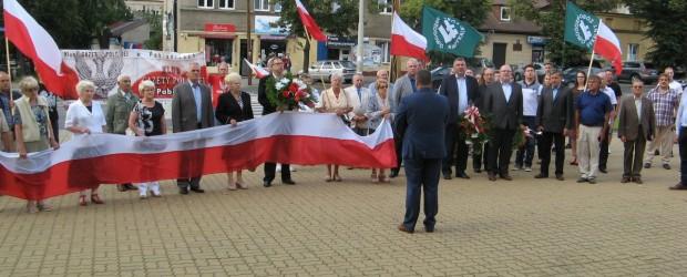 Pabianice: Uroczystość uczczenia Powstańców Warszawskich 1.08.2016.