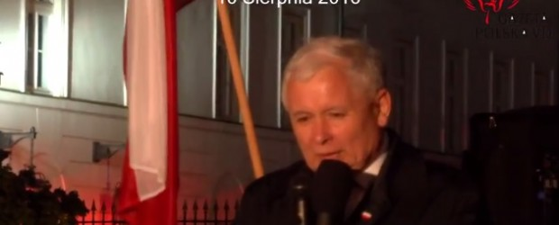 Warszawa: Miesięcznica tragedii smoleńskie, 10 sierpnia (wideo)